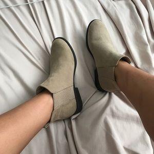 tan booties **NEW**